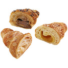 Mini croissants, sweet mixed