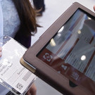 Scan2Lead SMART, but also includes a tablet on loan for the duration of the trade fair.