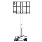Personnel lift up tp 4.9m; RS-light 049