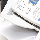 Combi package IP telephone and fax machine